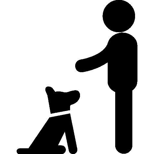 chien assis